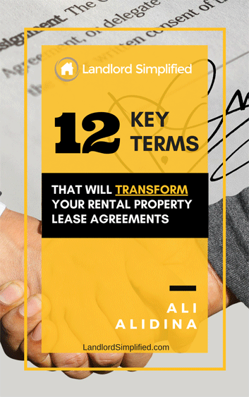 12 Key Terms that will TRANSFORM your Rental Property Lease Agreements