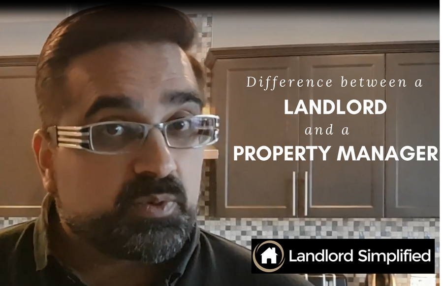 What's the difference between a landlord and property manager?