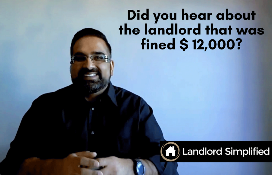 Did you hear about the Landlord that was fined $12K for wearing his shoes in his tenant's home?